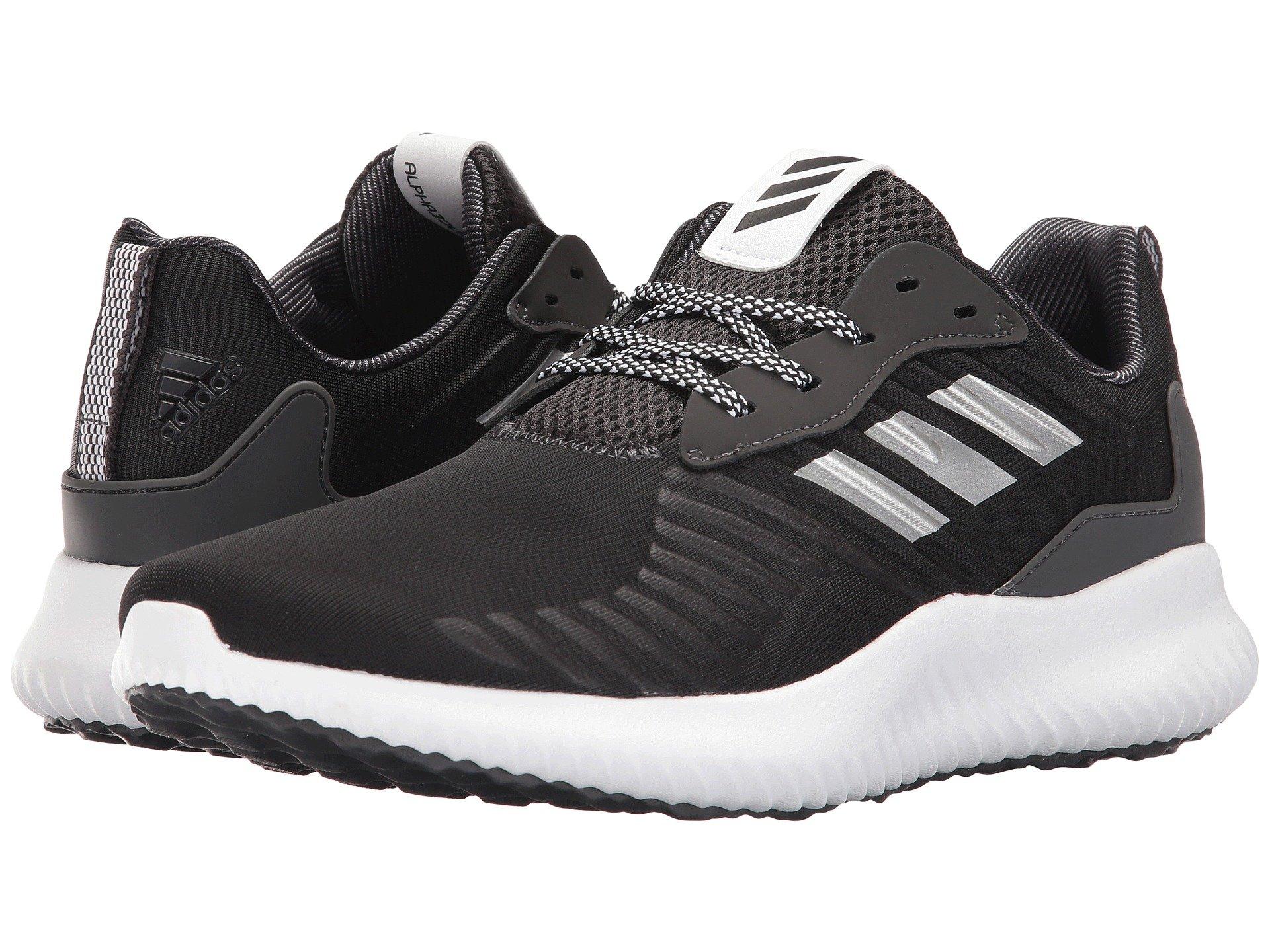Adidas Originals AlphaBounce RC, negro / blanco / negro modesens
