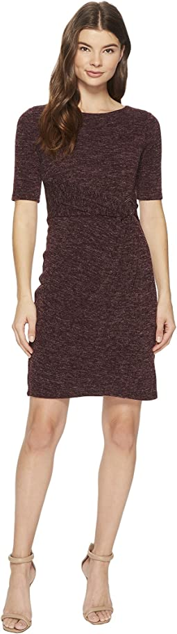 Sweater Dress with Hardware Detail At The Waist