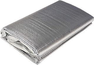 萩原 暖房関連グッズ シルバー 約180X180cm 「保温アルミシート」 保温&冷気遮断であったか 110900020