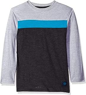 Boys' Long Sleeve Striped Crew Neck T-Shirt