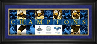 St. Louis Blues 2019 Stanley Cup Champions Framed 10