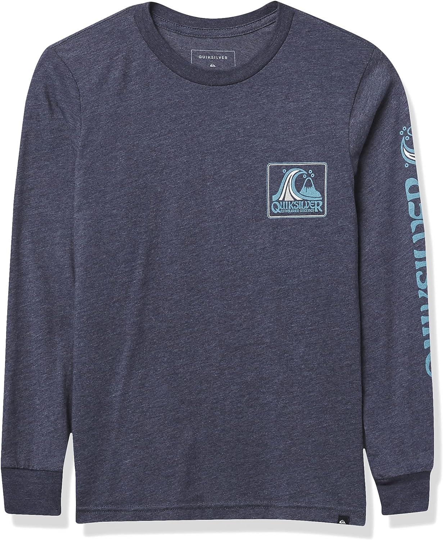 Quiksilver Boys' Direct stock discount Seaquest Long Tee Sleeve Detroit Mall T-Shirt