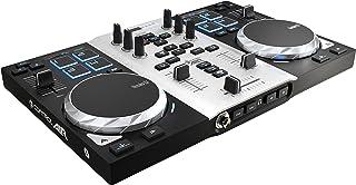 DJ Hercules DJ Control Air S Series - Controlador DJ [USB ultraportátil con salidas de audio, 8 pads y AIR Control]