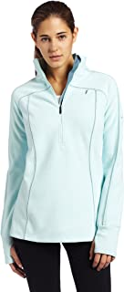 Columbia Women's Silver Ridge Grid 1/2 Zip Fleece Knit Top (Shimmer, Small)