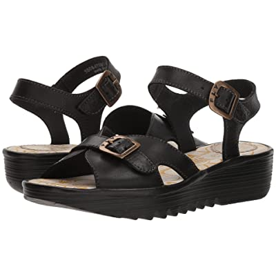 FLY LONDON EGAL847FLY (Black Colmar) Women