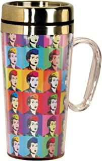 Spoontiques Lucy Pop Art Insulated Travel Mug, Toy, Multi