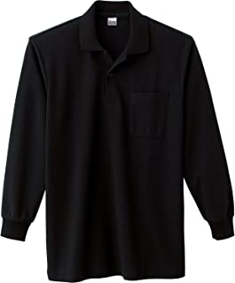 [プリントスター] 長袖 5.8オンス TC 鹿の子 長袖 ポロシャツ [ポケット付] 00169-VLP メンズ