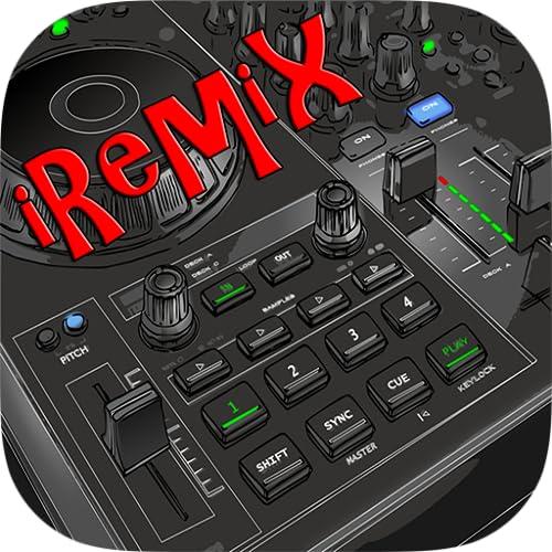 iRemix - Portable DJ Music Maker & Remixer Mix Station Free