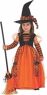 Disfraz de Bruja Brillante para niña, infantil 5-7 años (Rubie's 510567-M)