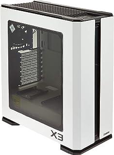 Zalman X3 Blanco (RGB) - Caja sin alimentación (Formato ATX Mediano)