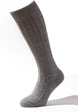 95/% de Lana Merino para una sensaci/ón Especial de naturalidad y Comodidad Calidad Made in Tirol del Sur Calcetines de Senderismo y Trekking Merino-ALPS Largos