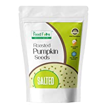 The Food Folks Roasted Pumpkin Seeds Salted 250g – Pumpkin Seeds For Eating, Healthy Snack, Immunity Booster