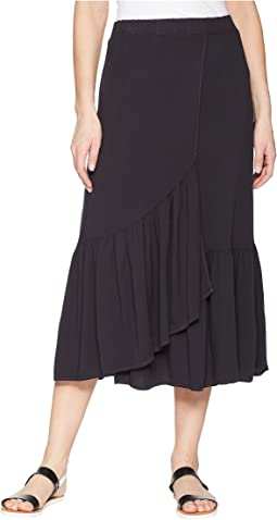 Michael Stars - Rylie Rayon Wrapped Midi Skirt