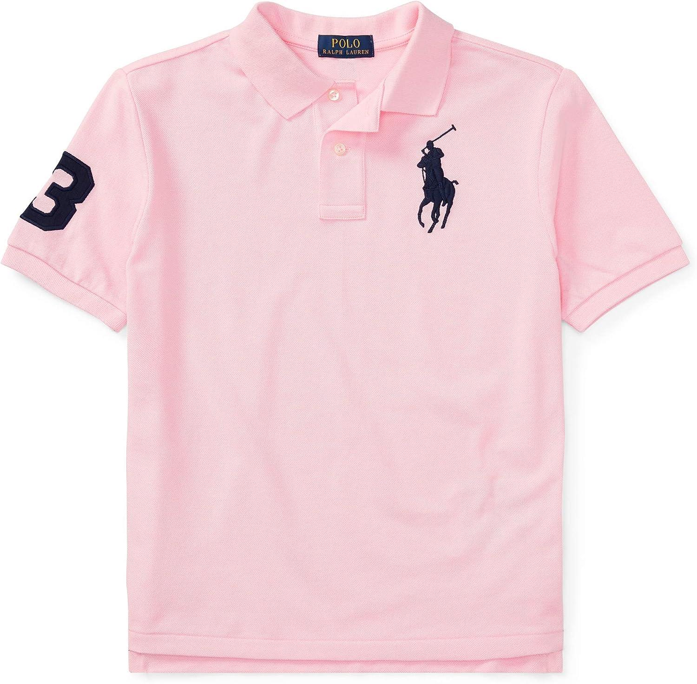Ralph Lauren - Big Pony Polo para niños de 6-14 años - Carmel Pink