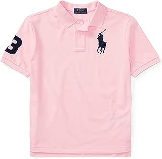 Ralph Lauren Polo Boys Mesh Big Pony Logo Polo