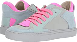 Light Blue/Fuchsia