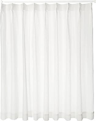 ユニベール ミラーレースカーテン ホワイト 幅200×丈198cm 1枚 HAZ-L0014