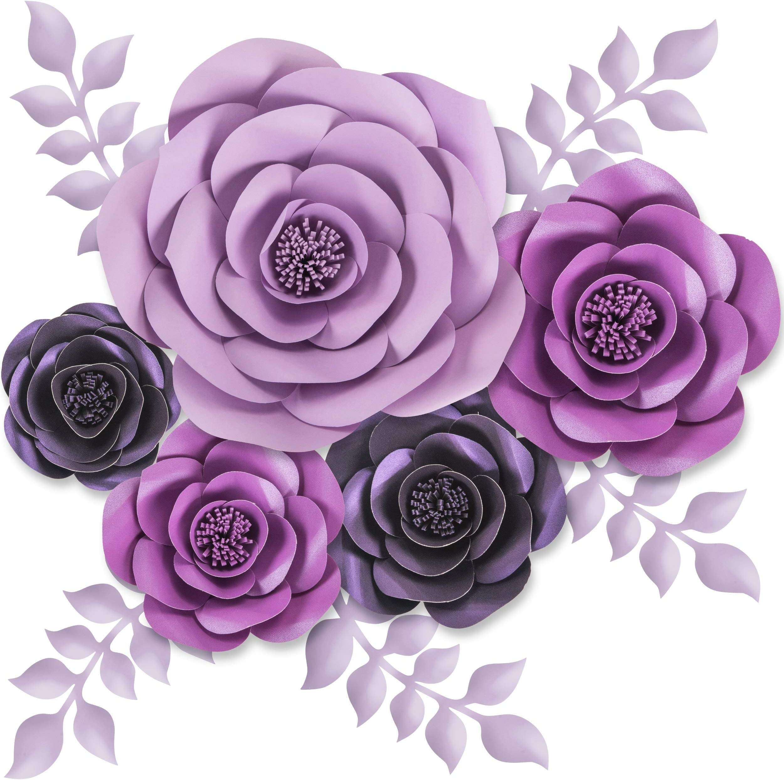 Weddings Large Paper Flowers Great for Backdrop Twelve 10 inch flowers Colors of your Choice