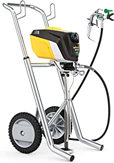 Wagner 0580715 Control Pro 170 Cart Paint Sprayer, High Efficiency Airless with Low Overspray