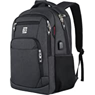 Laptop Backpack,Business Travel Anti Theft Slim Durable Laptops Backpack with USB Charging...