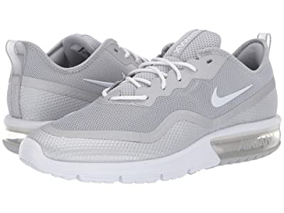 Nike Air Max Sequent 4.5 (Metallic Silver/White) Men