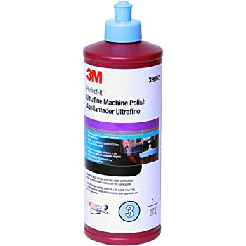3M Perfect-It EX Ultrafine Machine Polish, 39062, 1 pt(16 fl oz/473 mL