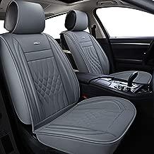 LUCKYMAN CLUB Gray Car Seat Covers Fit Most Sedan SUV Truck Fit for Subaru Outback Crosstrek Forester Legacy Impreza WRX Kia Optima Sportage Rondo Rio Cadenza Ford Fusion Escape (Gray)