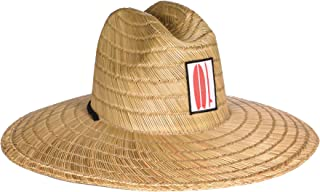 Surf Outfitter Men's Kahuna Straw Lifeguard Hat