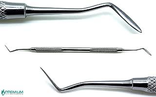 Hollenback 3 Dental Wax Modeling Carver Amalgam Restorative Double Ended Steel Instruments