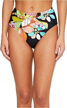 Trina Turk - Bouquet Floral High-Waist Bottom