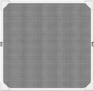 Schellenberg 50746 Montaje rápido sin taladrar, Blanca, con perfiles de plástico Muy Flexibles, 120 x 120 cm