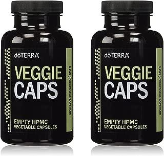 doTERRA Empty HPMC Veggie Caps, 160-Capsules per bottle, 2-Pack