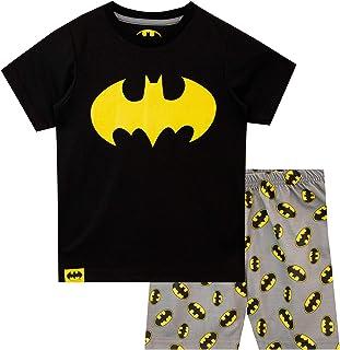 Pijamas de Manga Corta para niños Batman