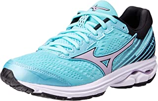 Mizuno Australia Women's Wave Rider 22 Running Shoes, Angel Blue/Lavender Frost/Black, 7 US