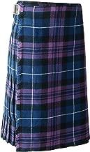 Scottish Mens Kilt Traditional Highland 5 Yard 10 oz Tartan Sporran