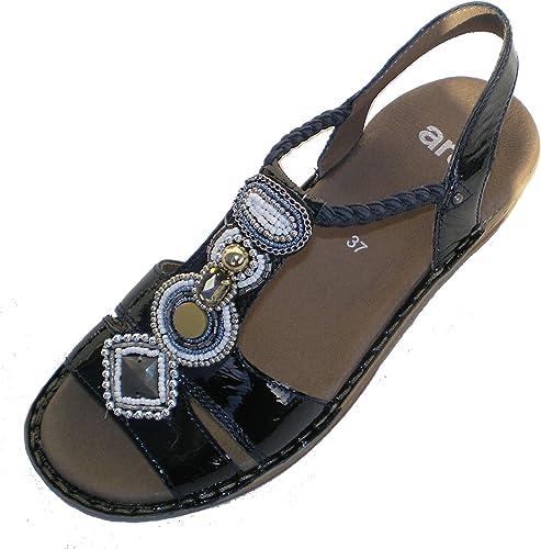 Ara Hawaii 12-37275-16 - Sandalias de Cuero para mujer