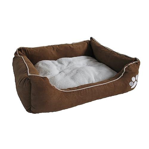98520d875fb BUNNY BUSINESS Luxury Super Soft Dog Beds Faux Suede