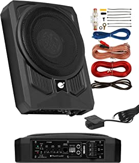 Planet Audio P10AWK Amplified Car Subwoofer - 1000 Watts, Low Profile, 10 Inch Subwoofer, 8 Gauge Amplifier Installation K... photo