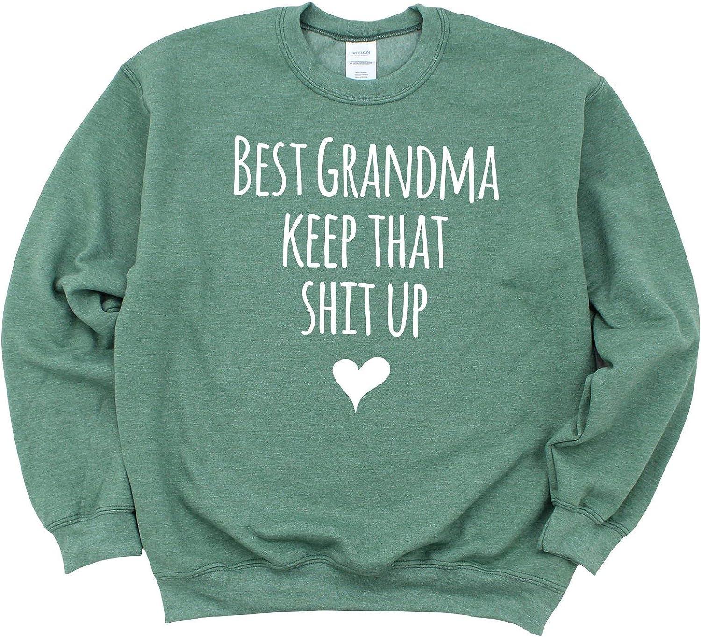 Latest item Berkley Rose Award-winning store Best Grandma Keep That Up Sw Crewneck Shit Unisex