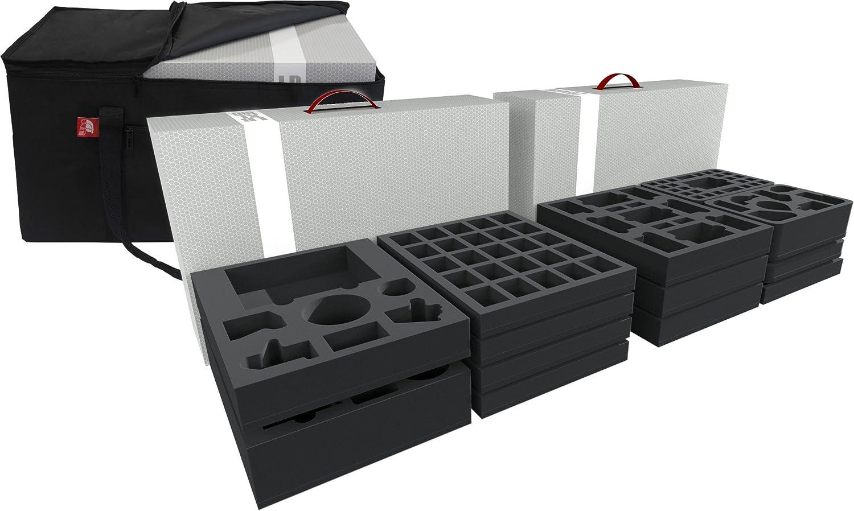 Feldherr foam kit for the complete Massive Darkness Kickstarter Pledge with Transporter Bag