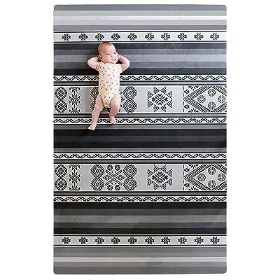 Tribe West Large, Stylish Playmat in Cusco Grey...
