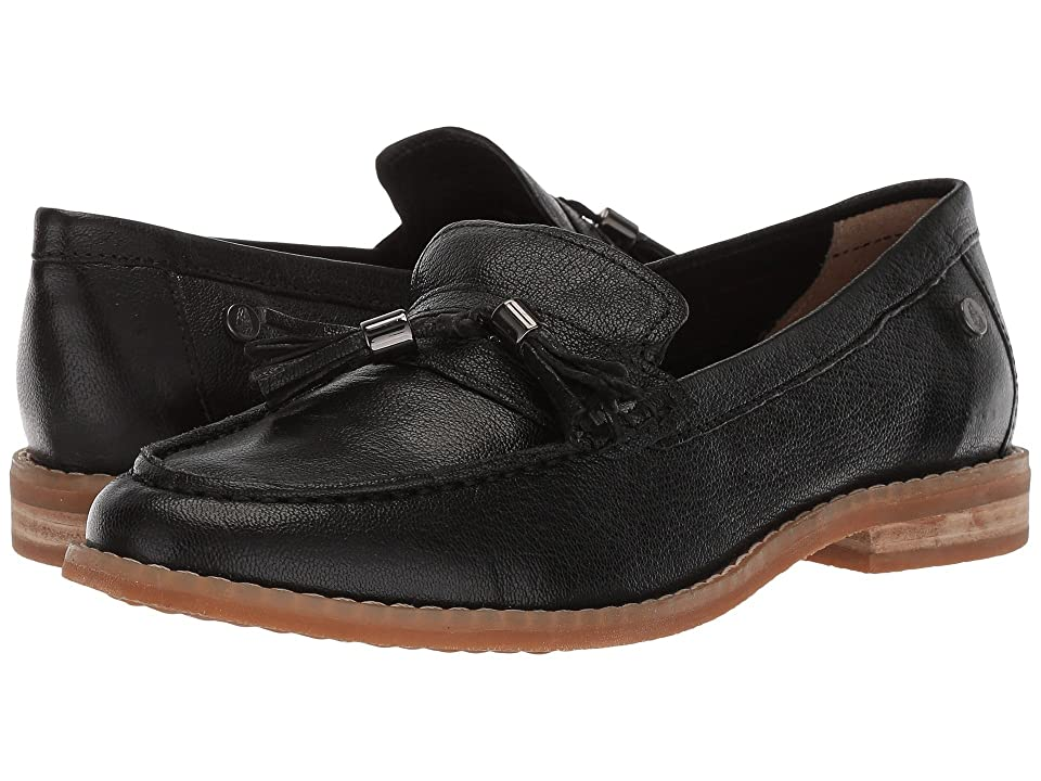 Hush Puppies Chardon Penny (Black Leather) Women