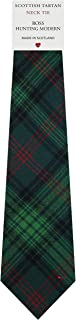 Mens Tie All Wool Made in Scotland Ross Hunting Modern Tartan