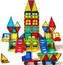 Magblock 120 PCS Magnetic Blocks, Magnetic Tiles Building Blocks for Kids Toys丨Magnet Toys Set 3D Building Blocks for Toddler Boys and Girls
