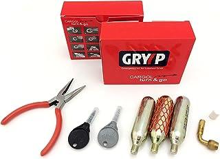Gryyp Kit reparapinchazos Cargol para reparación de