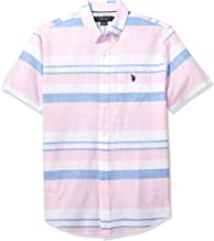 U.S. Polo Assn. Men's Short Sleeve Striped Sport Shirt