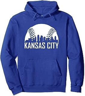 Vintage Kansas City Baseball Missouri KC Royal Blue Gift Pullover Hoodie
