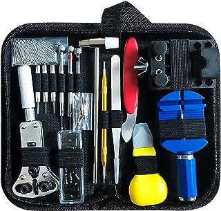 Kit de réparation de Montre, Ensemble d'outils de Barre de Ressort Professionnel Ensemble avec étui de Transport, Ensemble...