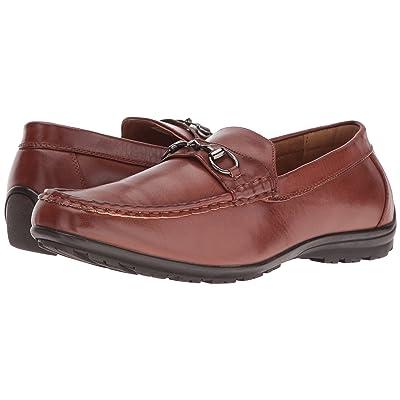 Deer Stags Manual Slip-On Loafer (Dark Luggage) Men