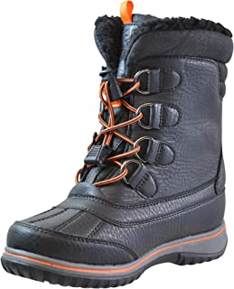 totes Boys and Girls Noah Front Lace Cold Weather Boot